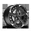 """Cerchi da 19"""" Aero in Sport nero e grigio"""