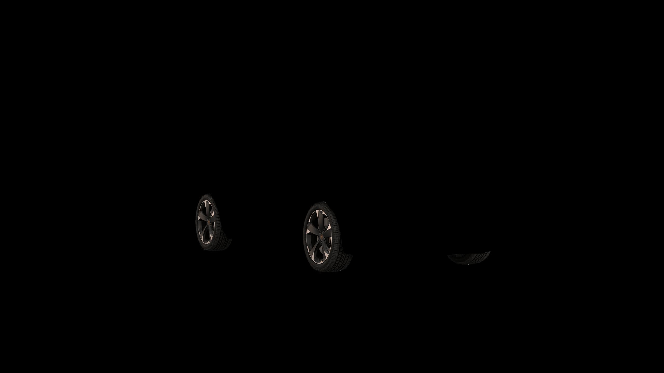 """Cerchi da 18"""" Alloy Sport nero e grigio"""