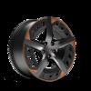 "Cerchi da 19"" Aero in Sport Black/Rame"