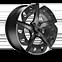 19″ Exclusive Aero Sport nero e grigio